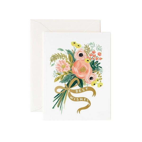 Best Wishes Bouquet Card | boogie + birdie