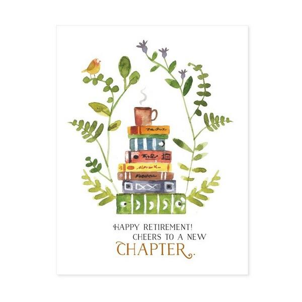 New Chapter Retirement Card | boogie + birdie