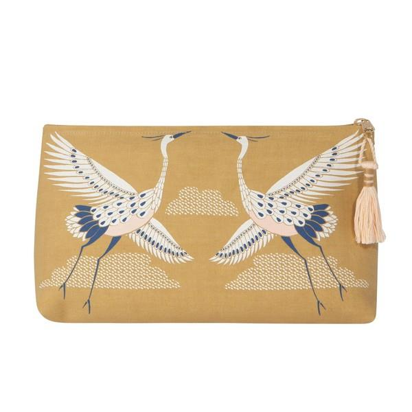 Flight of Fancy Large Cosmetic Bag | boogie + birdie