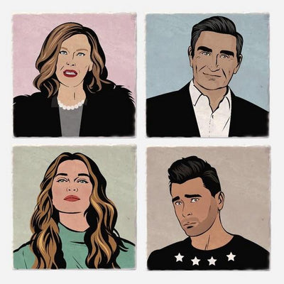 Schitt's Creek Coaster Set | boogie + birdie