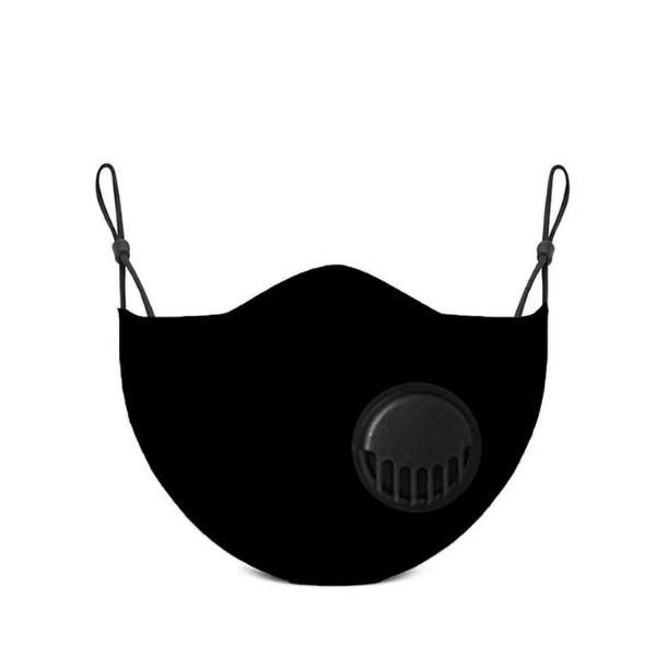 Black Carbon Filter Face Mask | Boogie + birdie