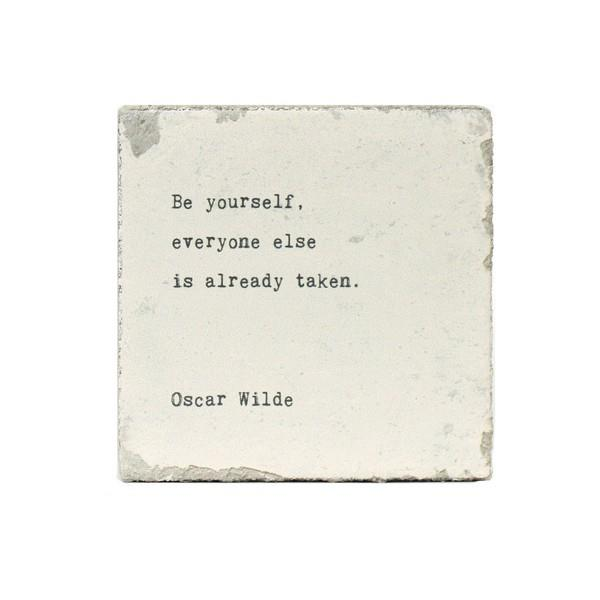 Be Yourself (Oscar Wilde) Little Gem | boogie + birdie