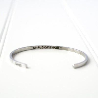 Unf*ckwithable Bangle | boogie + birdie