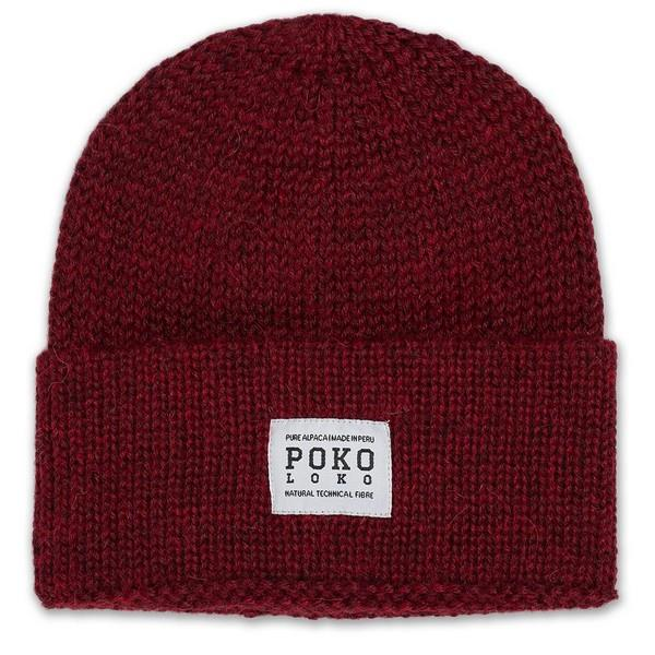 Wine Alpaca Fisherman Toque | boogie + birdie