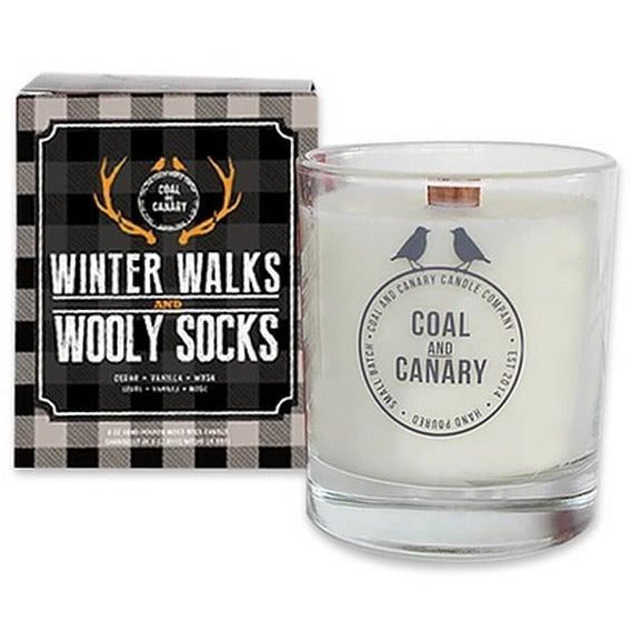 Winter Walks and Wooly Socks Candle | boogie + birdie