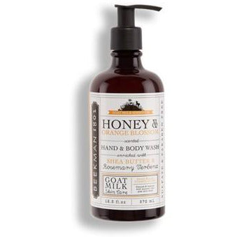 Honey & Orange Blossom Hand + Body Wash | boogie + birdie