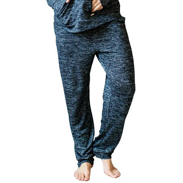 Heathered Black Lounge Pants | boogie + birdie