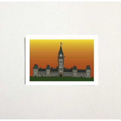 Parliament Sunset Postcard | boogie + birdie
