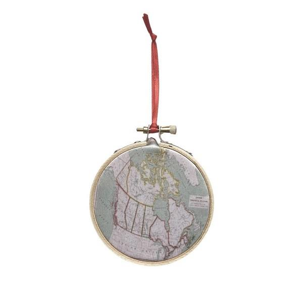 Canada Map Ornament | boogie + birdie