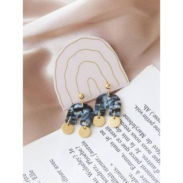 Night Sky Sia U Earrings | boogie + birdie