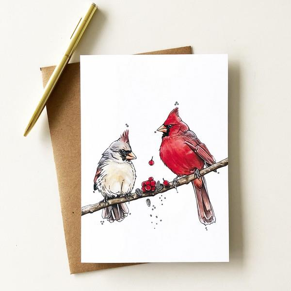 Cardinals 'The Feast' Card | boogie + birdie