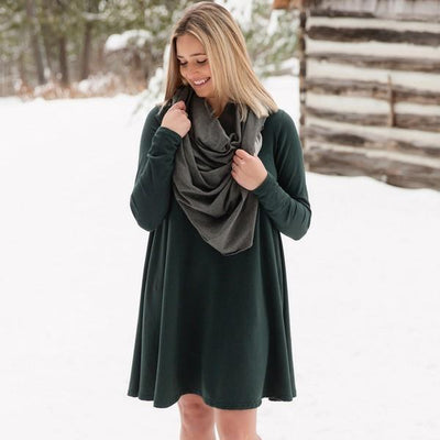Green Gables Bamboo Riverbend Tunic | boogie + birdie