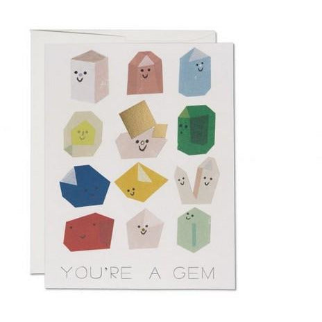 You're a Gem Card | boogie + birdie