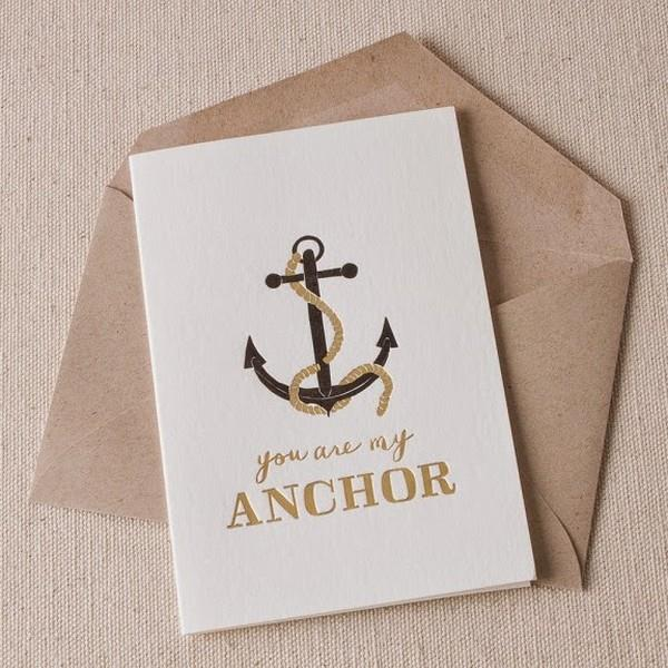 Anchor Love Card | boogie + birdie