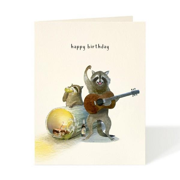 Garage Band Birthday Card | boogie + birdie