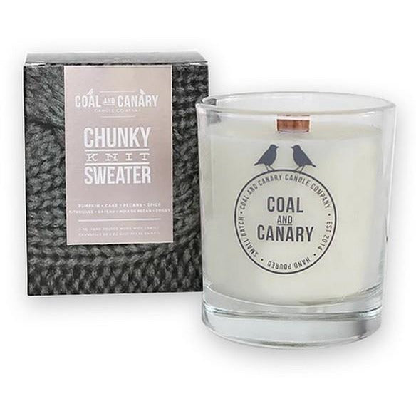 Chunky Knit Sweater Candle | boogie + birdie