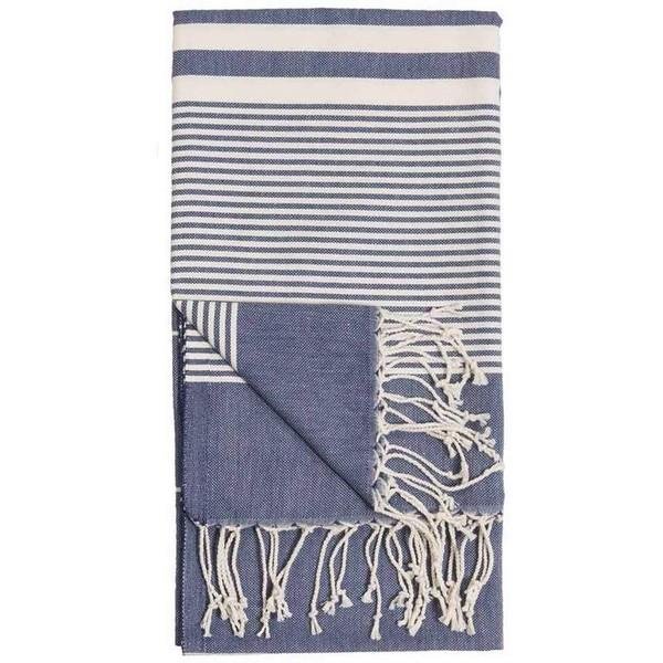 Harem Denim Turkish Towel | Folded | boogie + birdie