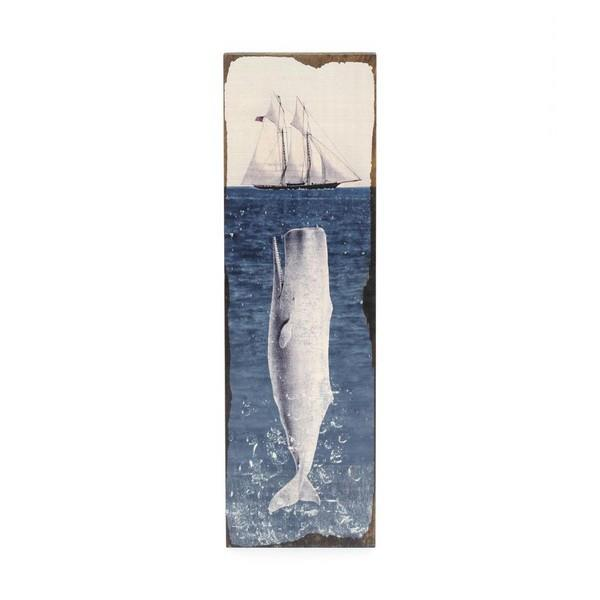 Moby Dick Small Timber Art | boogie + birdie