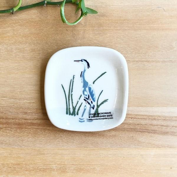 Blue Heron Tea Bag Holder | boogie + birdie