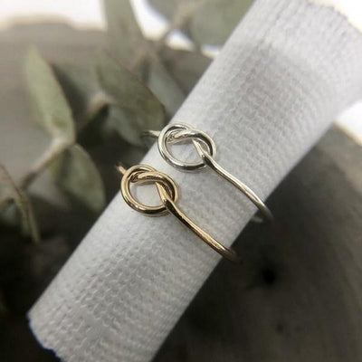 Silver Knot Ring | boogie + birdie