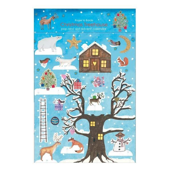 Christmas Treehouse Pop & Slot Calendar | boogie + birdie