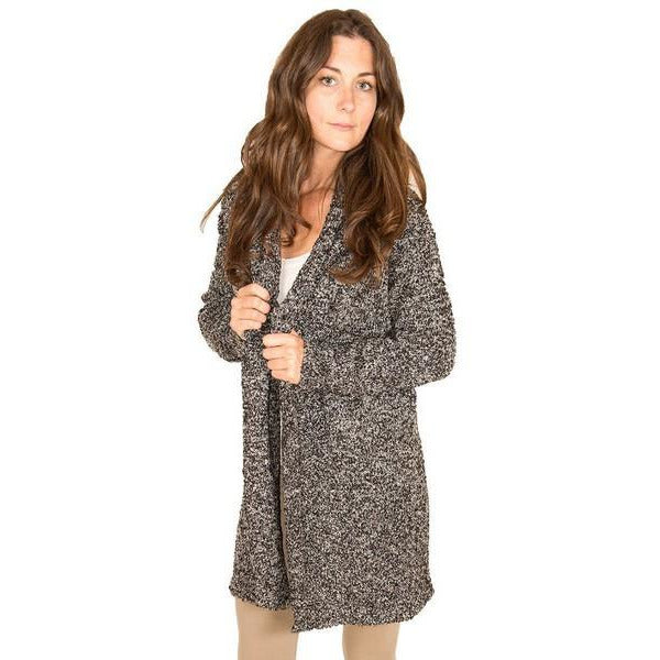 Midnight Cozy Long Cardigan | boogie + birdie