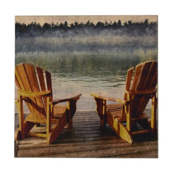 Adirondacks Wood Coaster | boogie + birdie