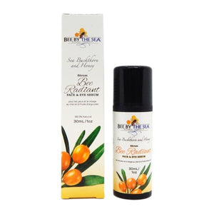 Bee By The Sea Sea Buckthorn And Honey Face And Eye Serum | boogie + birdie