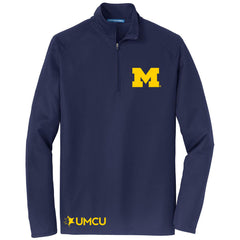 Men's UMCU Fall Rush Quarter Zip - True Navy