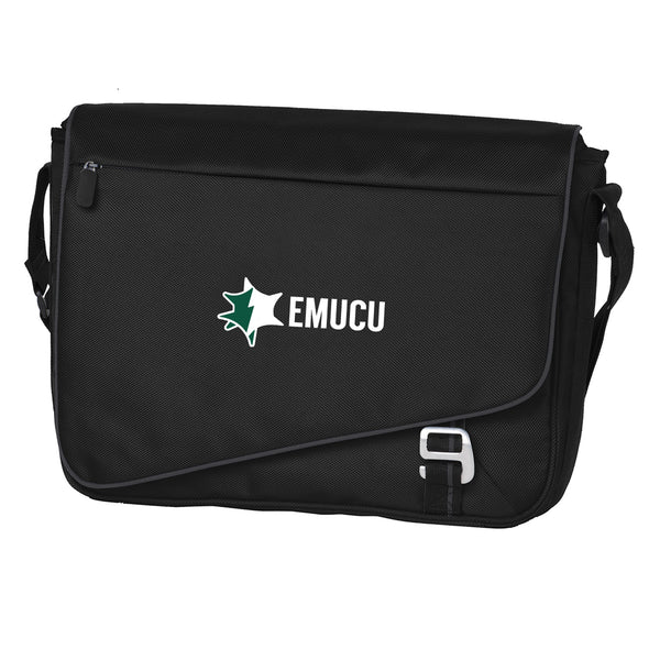 EMUCU Messenger Bag - Black/Deep Smoke