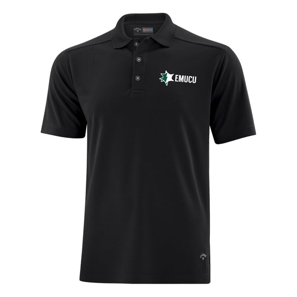 EMUCU Men's Callaway Core Performance Polo - Black