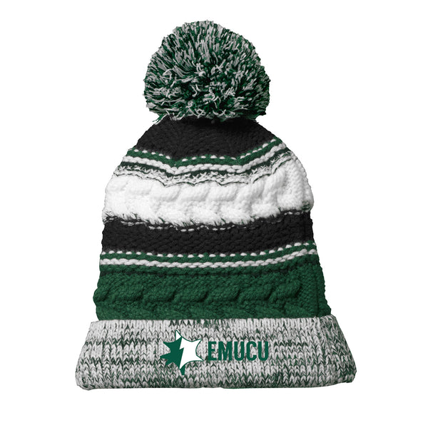 EMUCU Winter Pom Pom Hat