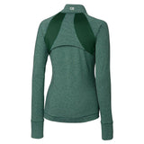EMUCU C&B Ladies Shoreline Colorblock Full Zip - Hunter Heather