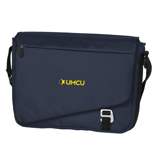 UMCU Messenger Bag - Dark Steel Blue/Black