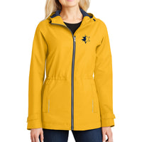 UMCU Women's Rain Jacket - Yellow