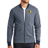 UMCU Men's Baseball Full Zip - Navy