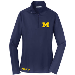 Women's UMCU Fall Rush Quarter Zip - True Navy