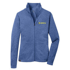UMCU OGIO Ladies Pixel Full Zip - Optic Blue