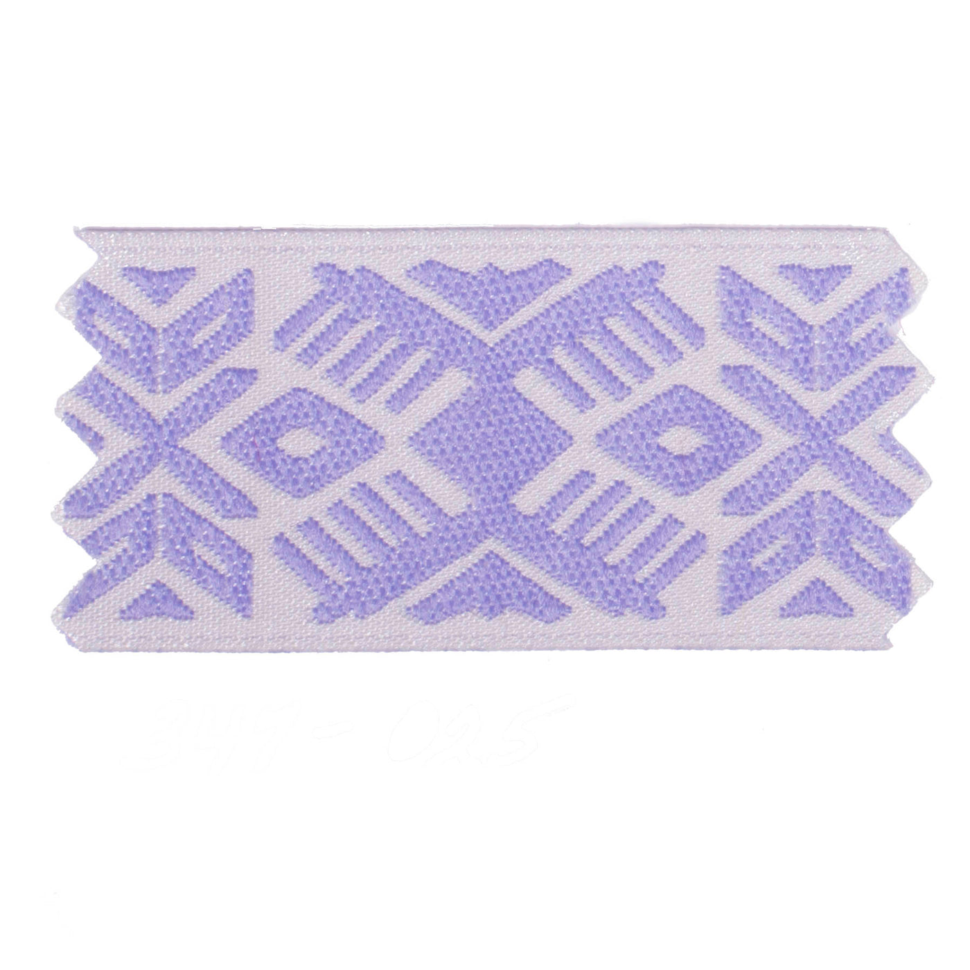 "1"" Inch Braid Lilac Design 1025437"