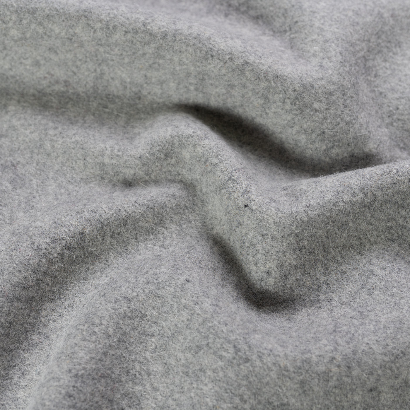 Wool Melton Grey
