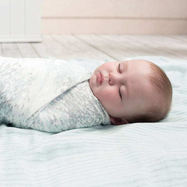 aden + anais - 3 pack Silky Soft Swaddle- Metallic Skylight Birch