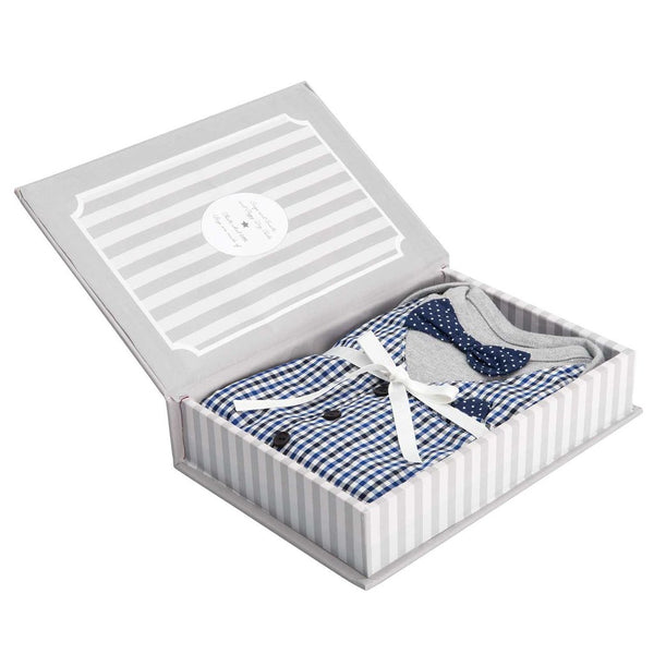 Elegant Baby - My First Formal Onesie in Keepsake Box