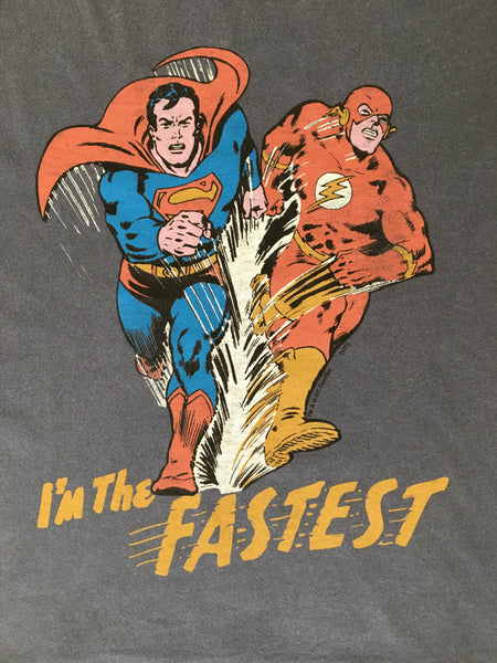 Junk Food Clothing Superman and The Flash