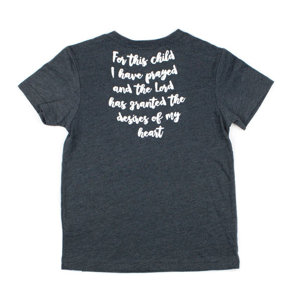 Prayer Answered T-Shirt in Dark Charcoal