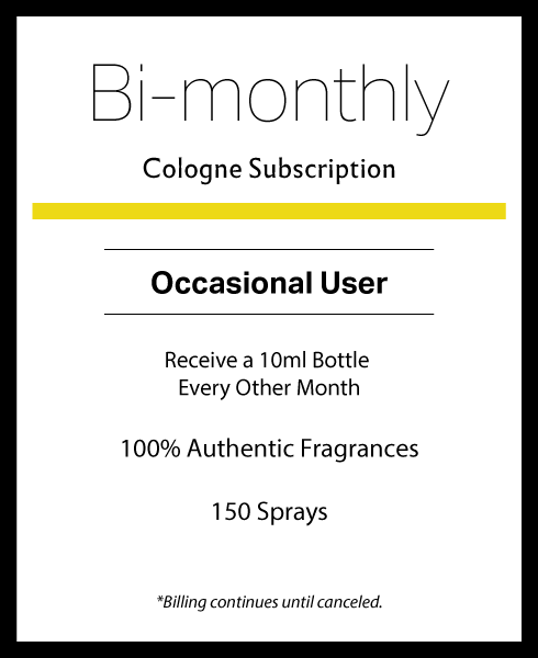 Bi-monthly Cologne Subscription