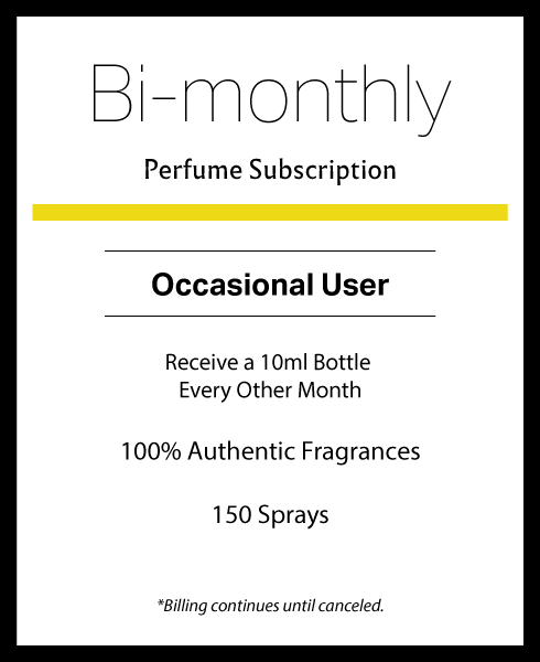Bi-monthly Perfume Subscription