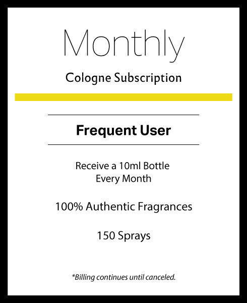 Monthly Cologne Subscription
