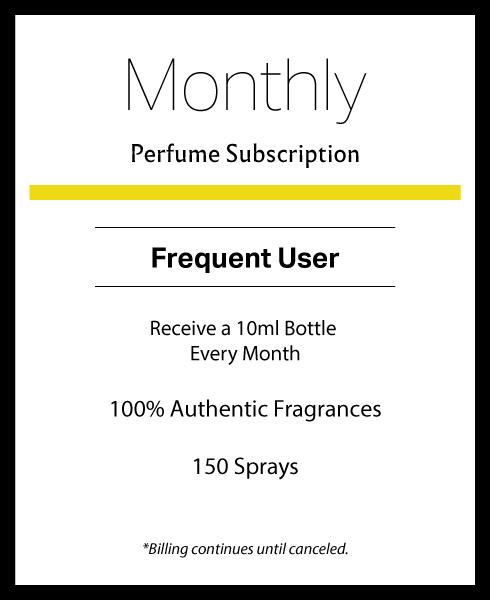 Monthly Perfume Subscription