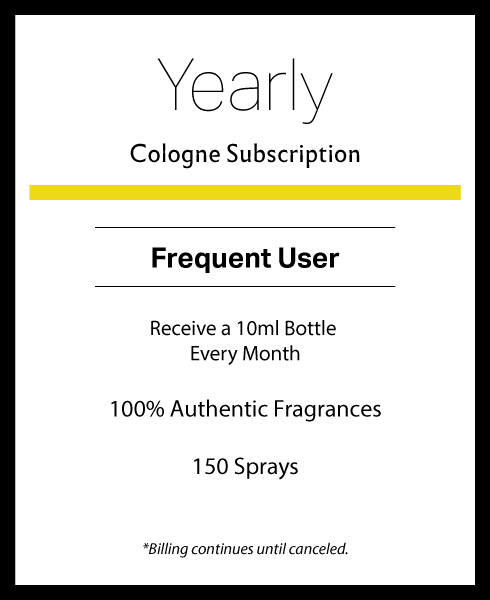 Yearly Cologne Subscription