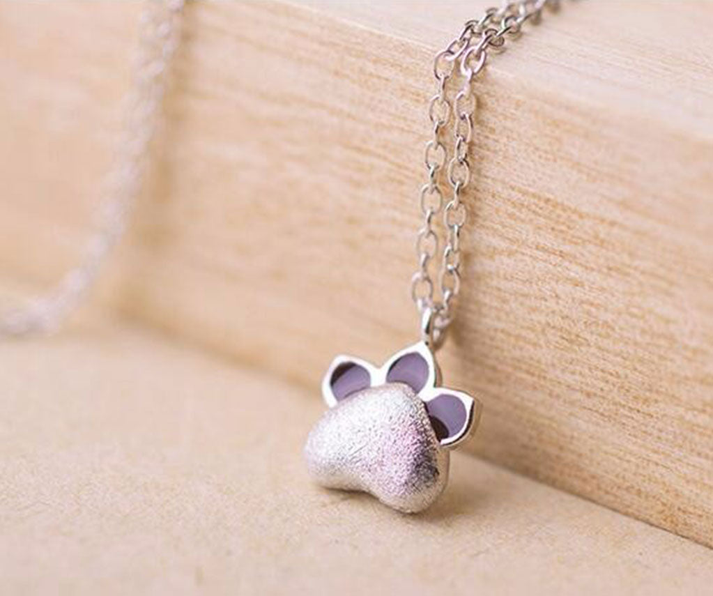 Anar Cat Paw Necklace